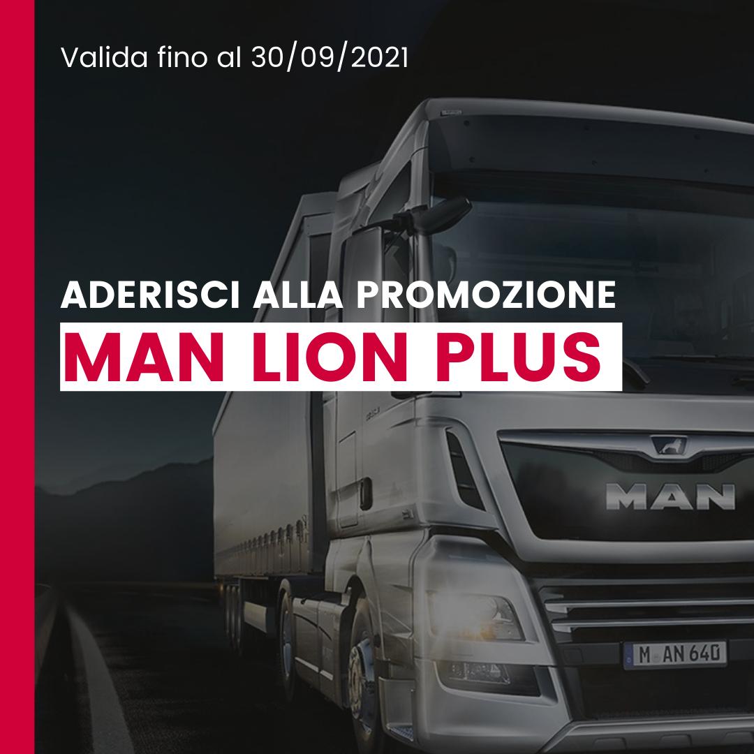 PROMOZIONE MAN LION PLUS